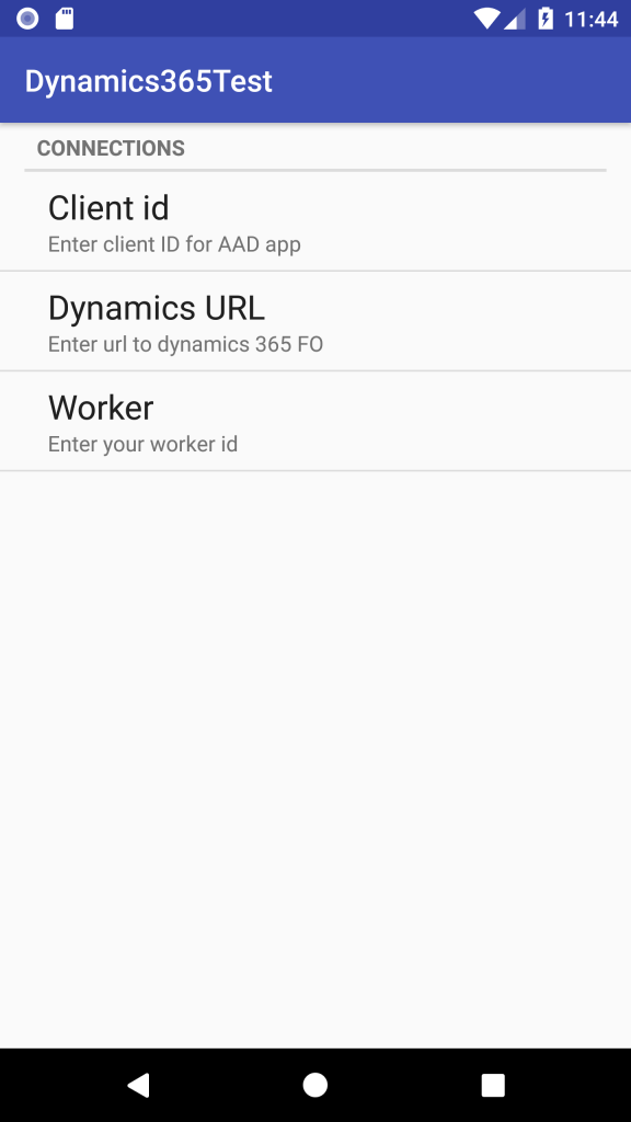 How to connect a Native Android Application to Dynamics 365 FO
