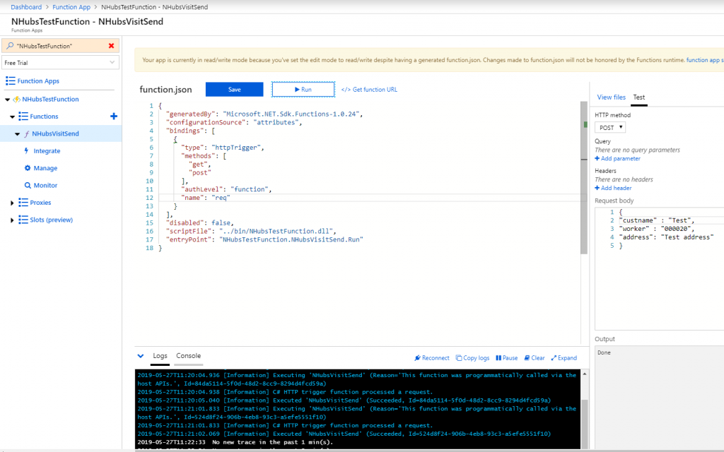 sertandev: How to receive D365FO push notifications using Azure